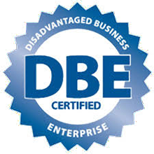 DBE- Disadvantaged Business Enterprise Logo